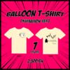 気球Tシャツ(くまモンver)を着て「くまモンの気球」を見に行こう!