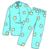 光るパジャマ
