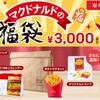 【2019マクドナルド福袋】買いたい!?3000円の無料は全部サイドメニュー!しかも有効期限3月末まで!