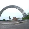 ウクライナ旅行[39](2019年5月)  キエフの観光スポット:クレシャティ公園