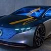 メルセデス・ベンツ Sクラス相当の高級EVコンセプト『VISION EQS』発表!