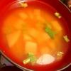 ひと味チェンジで蕪のお味噌汁