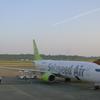 ソラシドエア12便 エコノミークラス 熊本‐羽田 搭乗記 6J12 Economy Class KMJ-HND B787-800 2017 Oct