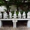 行願寺(革堂)の寿老人堂と七福神像。