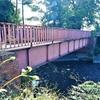 重要文化財の備前渠鉄橋もさることながら、付属の赤煉瓦のアーチ橋もなかなか