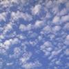 お空に浮かんでいる雲・・・大好き♡