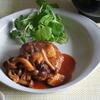 6冊目『小林カツ代の料理のコツ』よりハンバーグきのこソース