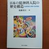 後藤基行『日本の精神科入院の歴史構造』(東大出版会、2019) を頂きました!