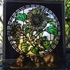 ステンドグラス風ー向日葵