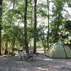 夏の終わりのソロキャンプ@杜のテラス