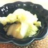 ホットクックレシピ 白菜とごま昆布和え