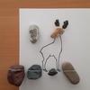 「シカと葡萄 わすれない」糸魚川ピクチャーストーン(紋様石)vol.60