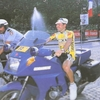 Tour de France ゴール後の・・・。