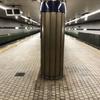 大阪メトロ谷町線の出戸駅のホームです!