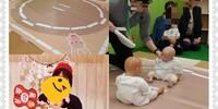 親だけが白熱!(笑)赤ちゃん本舗の 赤ちゃん相撲で横綱になった