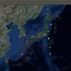 2017-06-30 地震の予測マップ (東進・西進を識別 過去の測定マップ)
