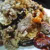 ラムとグリル野菜とクスクスのサラダ、コチジャン添え