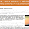 【掲載情報】The revolutionary musical instrument -- Melodica