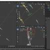 Blender2.8でIK(インバースキネマティクス)を使った人型アーマチュアを作成する その8(指の握り 後半)