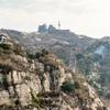 泰山(中国山東)世界遺産へ一泊二日旅行(7)-二日目の朝、下山は膝がきつい。