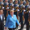 訪中のメルケル独首相が、中国との定期的対話の重要性を強調
