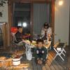 今年最後の自宅BBQ&焼き芋