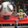 香港の茶餐廳で日本対カメルーン戦を観ます!!