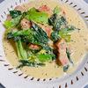 【バズレシピ】ほんとに飲めるわコレ...チンゲン菜の豆乳煮込み