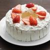 今からでも間に合う、バームクーヘンで作る苺のリースケーキのレシピ