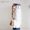 キャディバッグ カートバッグ トリコロール KHG20-CPB01 | 木の庄帆布 Kinosho TRANSIT