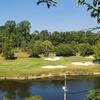 酷暑下の高齢者ゴルフ会