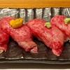 姫路【旬(シュン)】で肉寿司(うにく)を味わう!魚町