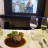 ANAファーストクラス 搭乗記【ヒューストン→成田】NH173 機内食