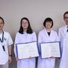 中華人民共和国より2名の医師が来院、3ヶ月に渡る消化器内視鏡の研修を修了しました