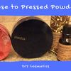 DIY Cosmetics Loose to Pressed Powder ルースパウダーを固めてみた
