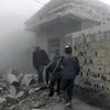 シリアでの化学兵器攻撃で米露が非難の応酬
