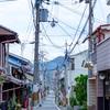 京都・西陣 - 初秋の京の町