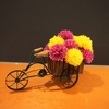 造花フラワーアレンジ装飾の仕事