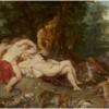ルーベンス 「ディアナとニンフを覗くサテゥルス」 人間の物では無い技術力で食人画を描く