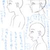 【25】 4/7 「横顔を考える。 -描いて慣れる&口を開ける-」