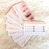 【かわいい名刺】ネイリスト名刺・おしゃれでかわいいハートスタンプカード