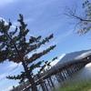 恐怖の滑り台がある公園。in鶴田町