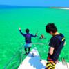 カタマランヨットクルーズでパナリ島シュノーケリング