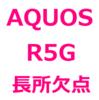 【AQUOS R5G レビュー/口コミ/評判/メリット/デメリット/欠点】大きい、重い、ワイヤレス充電ができない、フルセグ対応、のぞき見ブロックが便利、など
