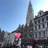ベルギー・アントワープの街と、アール・ヌーヴォーな住宅街
