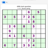 Sudoku 4098 hard, 28 Jun 2018 - The Guardian - update