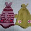 """【Ravelry】""""Fish Hat""""(フィッシュハット)は小さい子に編んであげると楽しいですよ。"""