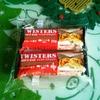業務スーパーのツイスターズチョコバー(2個78円税別)は「おなかがすいたらスニッカーズ」っぽい見た目よりかなりあっさり味でした!