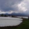 野辺山駅付近から見た八ヶ岳連峰