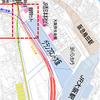 北梅田駅(仮称)で阪急狭軌新線はどう分岐するか